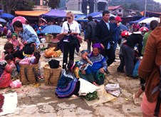 Bac Ha market on Sundays