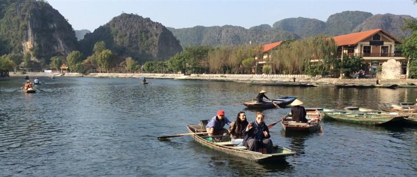 boat trip in tam coc and trang an