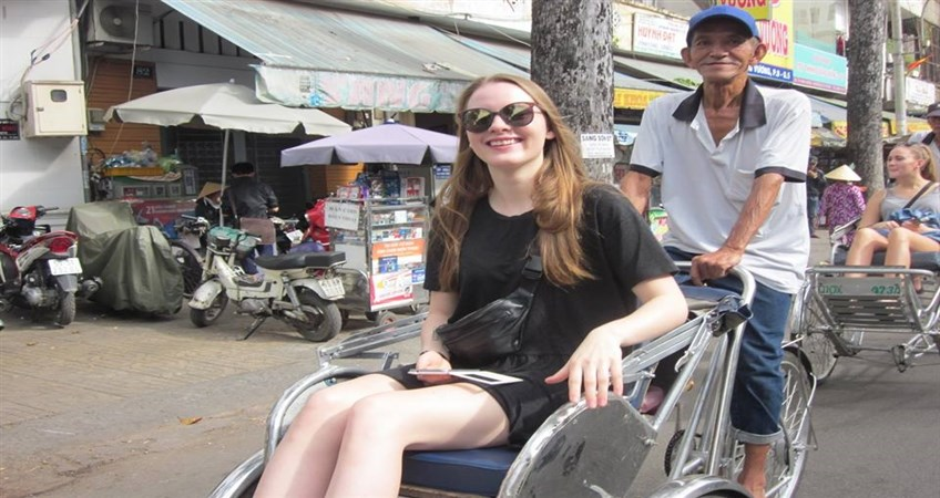 cyclo tour in ho chi minh city