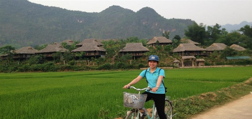 cycling in mai chau