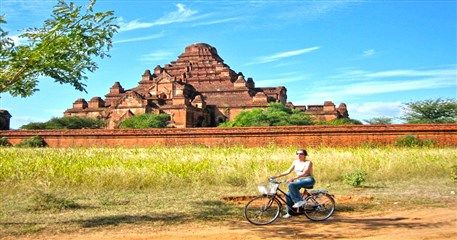 MAT15: Yagon to Bagan Cycling Tour - 8 days / 7 nights