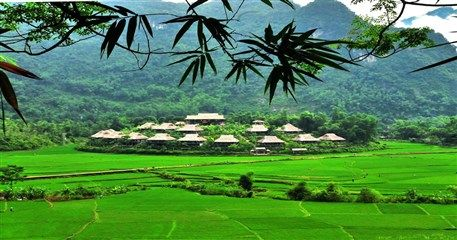 HN07: Hanoi - Mai Chau - Tam Coc - Halong Tour - 6 days / 5 nights