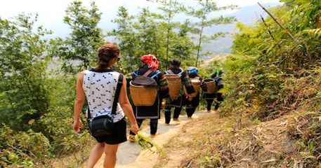 ST04: Trekking Cat Cat - Y Linh Ho - Full Day