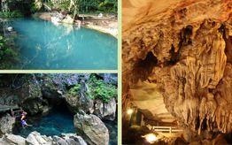 Caves in Vang Vieng