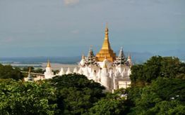 Enjoy the view from Sagaing Hill