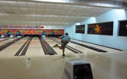 Laos Bowling Center In Vientiane