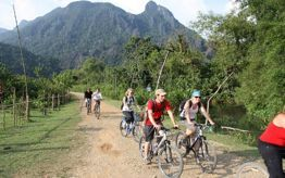 Cycling And Motorbiking Around Vang Vieng