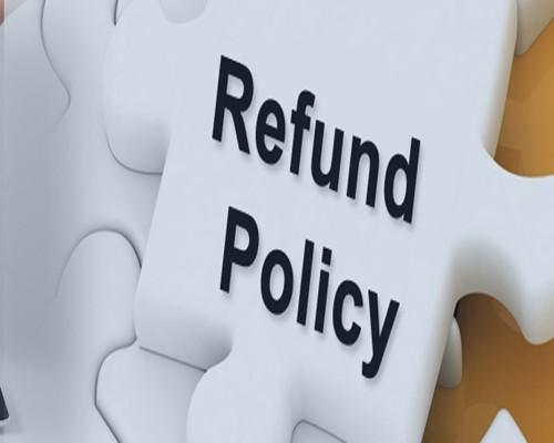 Refund & cancellation