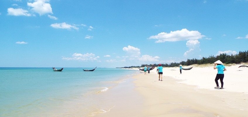 The An Bang and Non Nuoc beach - the best beaches in Asia