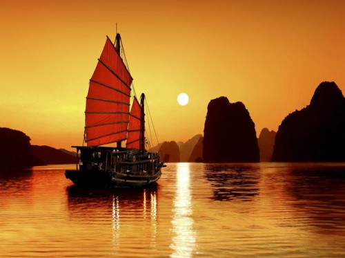The World Natural Heritage of Ha Long Bay