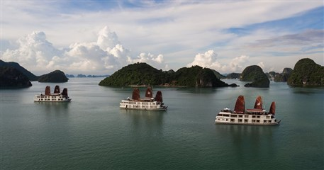 HLT07: Halong Luxury Cruise 2 days / 1 nights