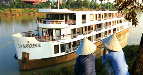 MC05: RV La Marguerite Cruise Tour from Siem Reap - 8 days / 7 nights