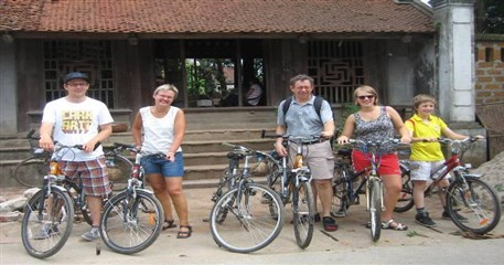 HN14: Moon Garden Homestay + Biking - 2 days / 1 night