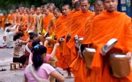 Luang Prabang Alms Ceremony