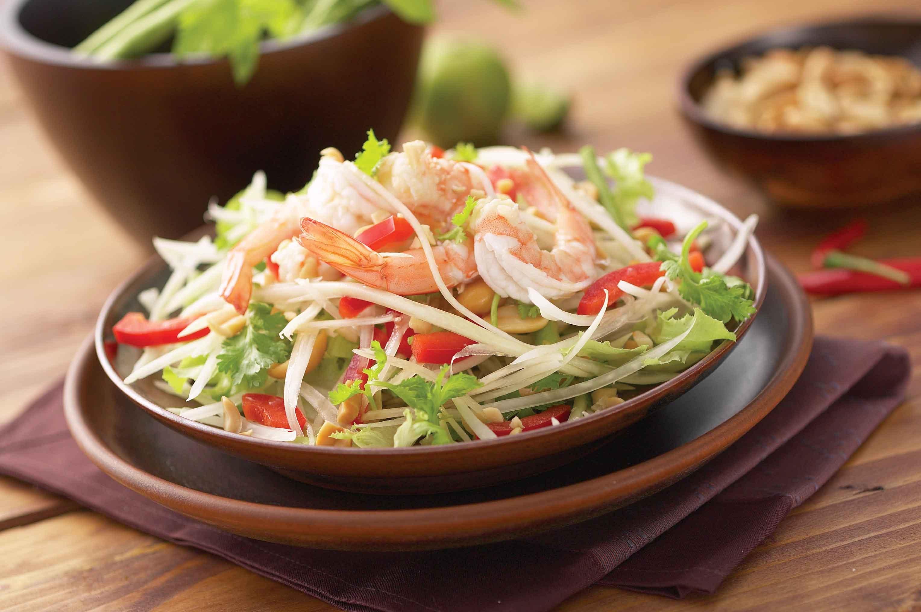 Tam Mak Hoong (Papaya Salad)